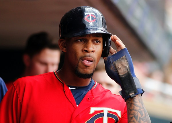 Byron Buxton was summoned from Class AAA Rochester after Monday's 3-2 low-voltage matinee loss to the Athletics, and the rookie center fielder shoul