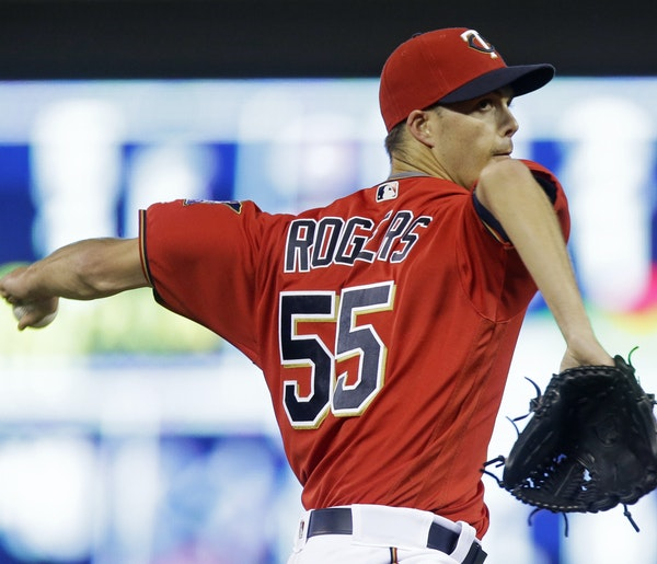 Twins pitcher Taylor Rogers made 87 starts in the minors but is being used out of the bullpen in the majors for the Twins. The lefthander is 3-0 with