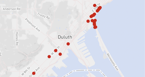Our favorite don't-miss Duluth restaurants, from old to new, by searchable map