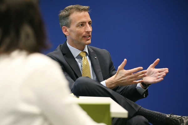 New Minneapolis schools superintendent Ed Graff has a reputation for putting others at ease with his quiet demeanor.