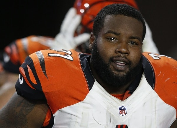 Former Bengal tackle Andre Smith signed with the Vikings this offseason. He is not guaranteed a starting job, but he could prove to be a free-agent st