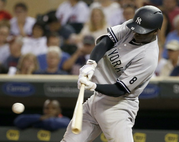 Yankees shortstop Didi Gregorius hit a tiebreaking three-run homer on Fernando Abad's first offering in relief Thursday.
