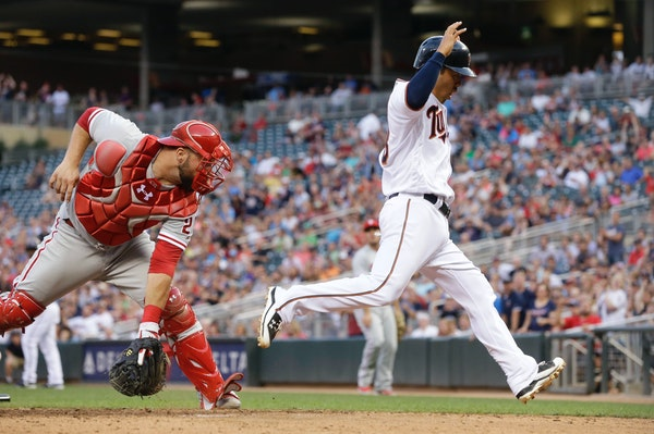 Suzuki a triple shy of the cycle Tuesday