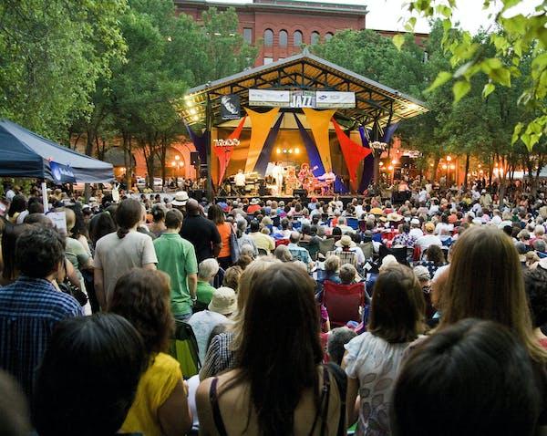 Twin Cities Jazz Festival in Mears Park.