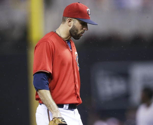 Pat Dean left Friday's game in the third inning, then left the Twins for Rochester after the loss.