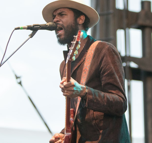 With Gary Clark Jr. as well as Death Cab for Cutie, the Basilica Block Party packed in 11,000 people Friday night.