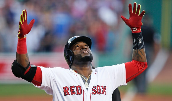 David Ortiz has 525 career home runs, but only 58 came in his six seasons with the Twins, who released him following the 2002 season.
