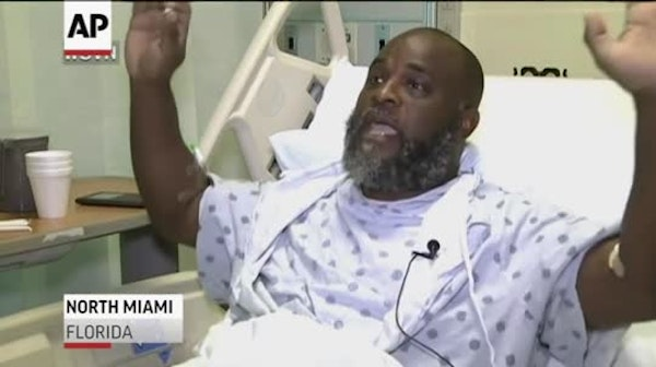Charles Kinsey, a therapist who works with people with disabilities, was trying to help an autistic man back to his facility when he was shot by polic