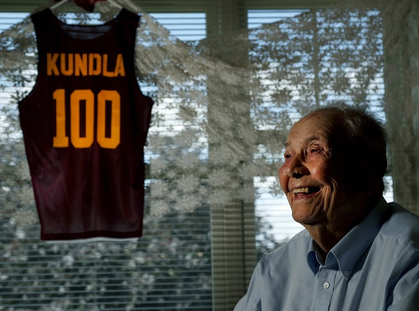 John Kundla is turning 100 years old. The former Minneapolis Lakers is a member of the basketball hall of fame, having led the Minneapolis Lakers to s