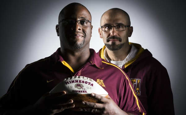 When Ed Hawthorne, left, needed a kidney, his former Gophers teammate Doobie Kurus didn't hesitate. Both are doing well after the transplant operati