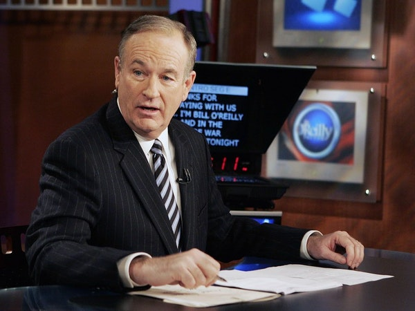 """Fox News commentator Bill O'Reilly appears on the Fox News show, """"The O'Reilly Factor."""""""