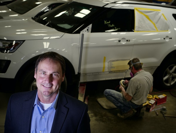 Duane Rouse is CEO of ABRA Auto Body & Glass, and has been instrumental in guiding the Brooklyn Park-based company during a period of rapid growth thr