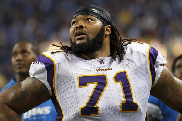 Phil Loadholt was taken in the first round of the 2009 draft.