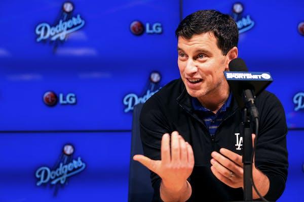 Dodger President of Baseball Operations Andrew Friedman.