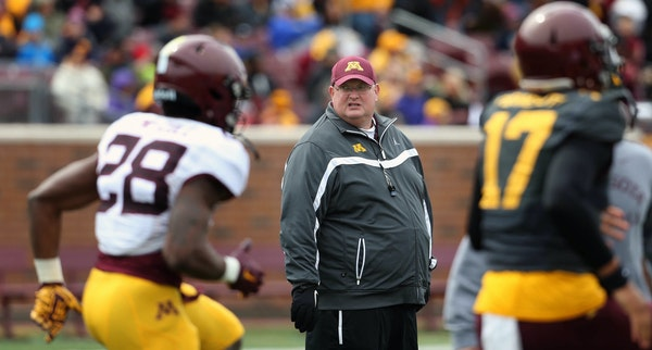 Tracy Claeys will try to improve on the 2-4 record he forged as Gophers interim coach.
