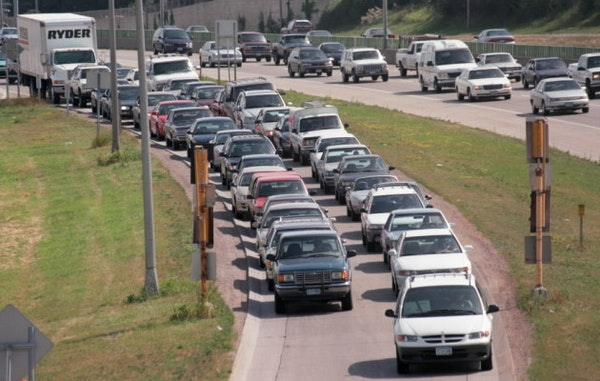 Brace yourself for tonight's 'busiest traffic day of the year' commute