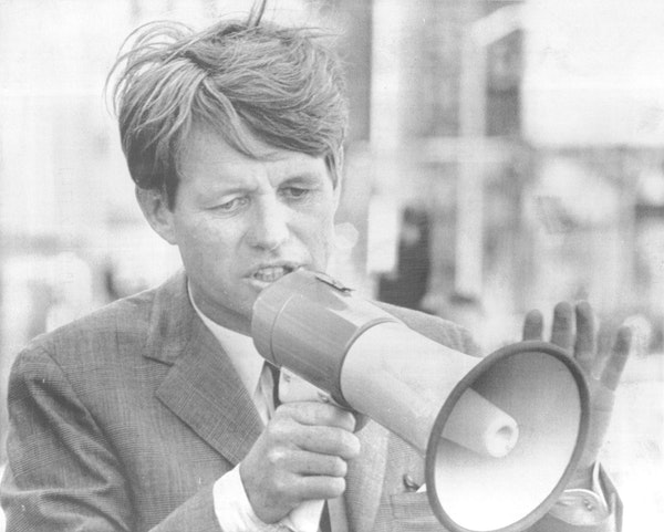 Robert F. Kennedy overcame negative perceptions to mount a strong campaign for the Democratic nomination for president before he was assassinated in 1