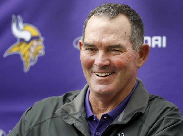 """Coach Mike Zimmer relished his new long-term deal with the Vikings, saying, """"I believe this team is the right fit for me."""""""