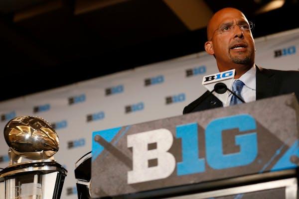 Penn State's James Franklin at Big Ten media days