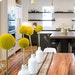 """Staging a home with a more modern look, like with this kitchen table, is important to sell a younger buyer on a home. """"They want that glamorous, thi"""