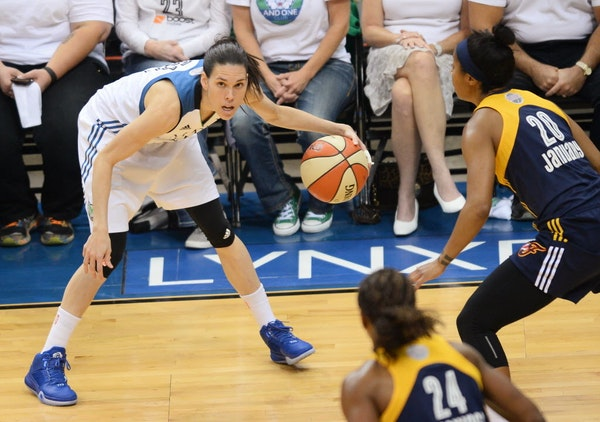 Anna Cruz of Spain has worked at blending in since rejoining the Lynx after the WNBA's Olympic break, during which she won a silver medal.