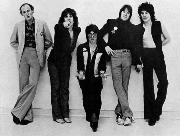 An early studio shot of the Flamin' Oh's, with Joseph Behrend, left, who was murdered in 1989. Drummer Bob Meide died in 2010 at age 59.