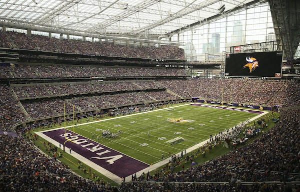 Television viewers will see U.S. Bank Stadium from all kinds of angles — including from directly above the 50-yard line via a robotic camera.