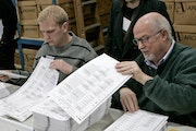 Minnesota's elections have several security steps, including paper and machine tallies. Both were key in the 2008 Senate recount.