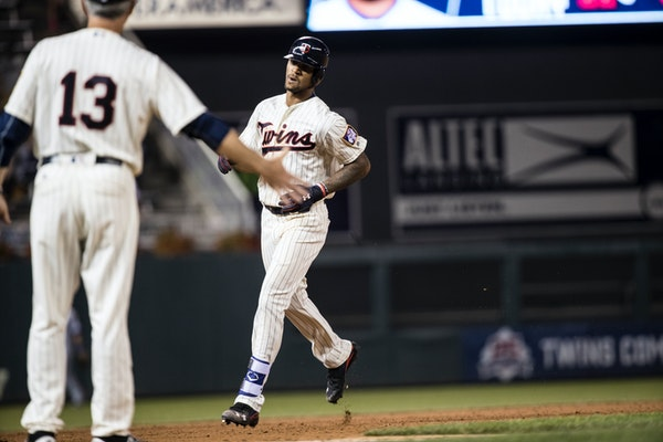 Buxton: Adjustment helped lead to home run