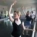 Mikki Johnston practiced Thursday in St. Paul Ballet's Grand Avenue studio, which is closing.