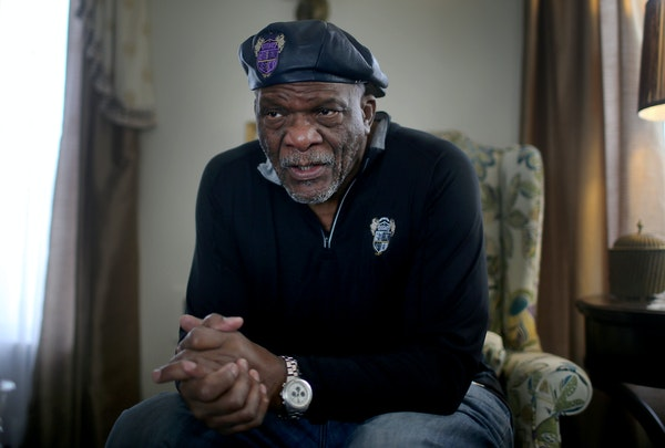 """Former Vikings star Carl Eller, shown at his home last year, says many of his NFL peers have struggle to stay on top of his health the way he has. """""""