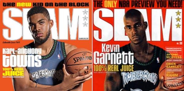 Next generation: KAT makes like KG on magazine cover