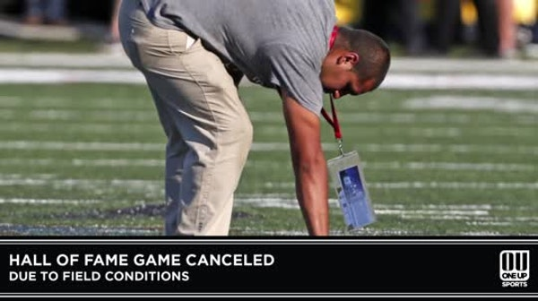 Hall of Fame Game canceled