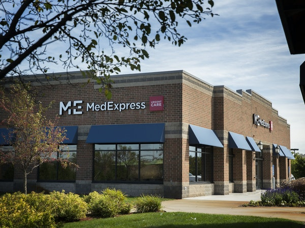 The MedExpress Urgent Care clinic that will soon be open in Plymouth.