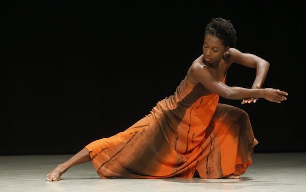 "Alanna Morris-Van Tassel danced ""Solo un poco"" by choreographer Idan Sharabi.Tim Rummelhoff"