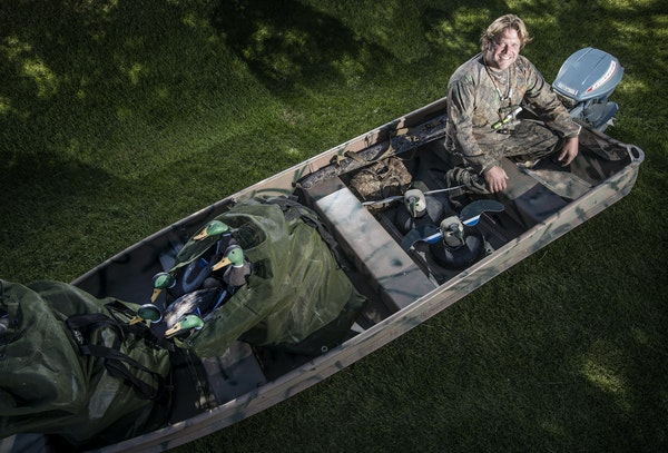 Jeff Morris of Bloomington is dialed in for another Minnesota duck opener, and it's a special year: His young boys will join him.