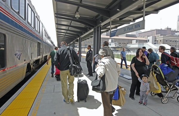 When an Amtrak train stopped at the refurbished Union Depot in 2014, it was the first passenger train in more than 40 years to come to the station. No