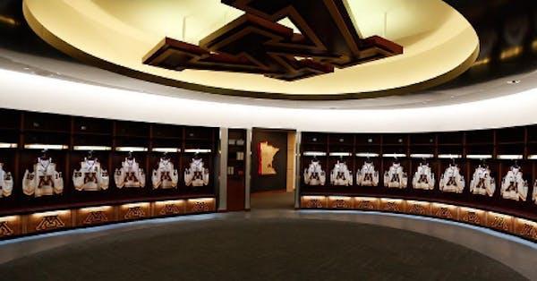 Gophers move into renovated Mariucci Arena locker room