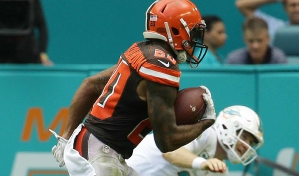 Ex-Gophers star Boddy-Calhoun makes Browns history in NFL debut