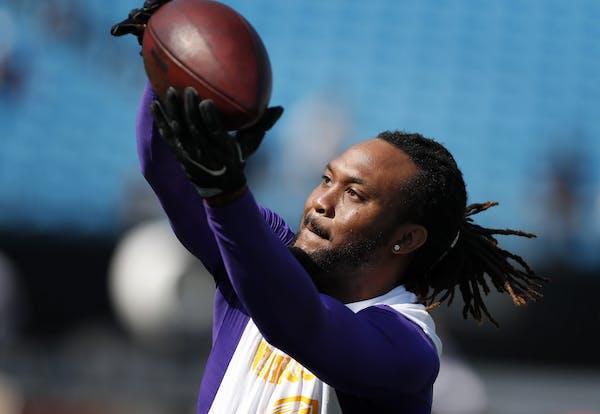Minnesota Vikings Jarius Wright.