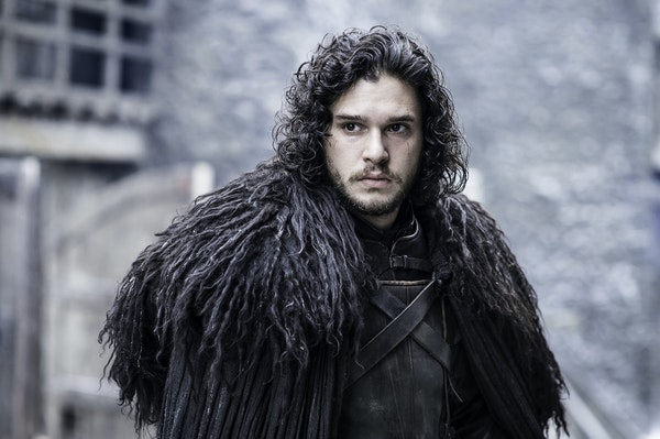 """Kit Harington as Jon Snow in """"Game of Thrones,"""" the favorite in best drama category."""