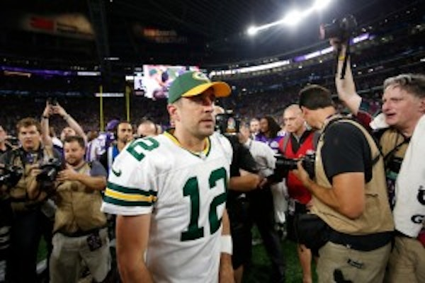 Packers fans are ripping Aaron Rodgers — maybe for good reason?