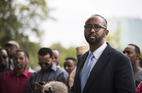 CAIR-MN executive director Jaylani Hussein, shown in September.