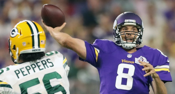 Sam Bradford showed his football talent vs. the Packers, throwing for 286 yards. But Stanley Cup champ Mike McEwan said Bradford could be in the NHL.