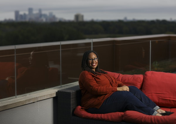 """""""When you come to work for a company in Minnesota, you are probably going to be the only person of color on your team, or your floor, or maybe your"""