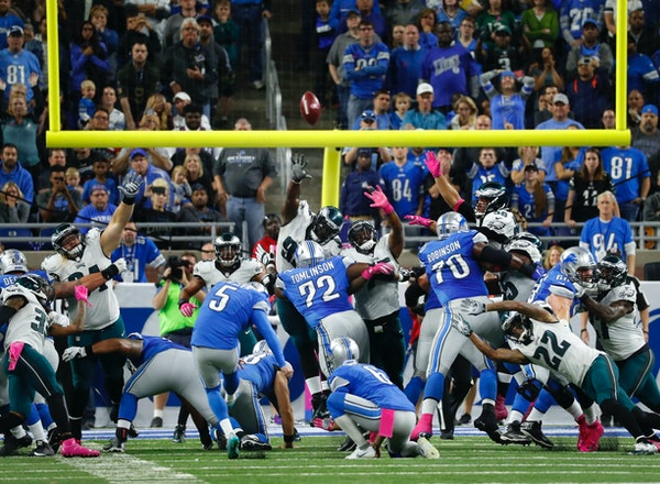 Lions hand Eagles first loss