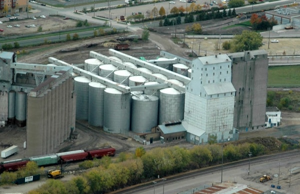 The steel grain elevators near TCF Bank Stadium are historically significant but are slated to be leveled just the same.