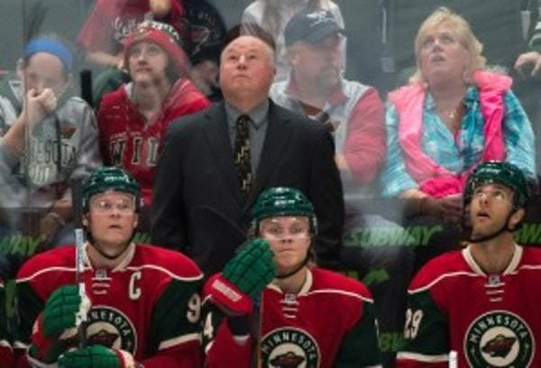 The key to the Wild's season? Coach Bruce Boudreau