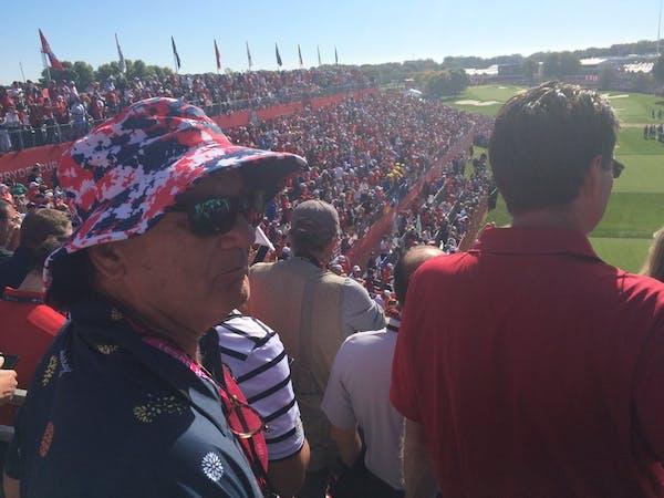 Bill Murray: Movie star. Golf fan. Ryder Cup cheerleader.