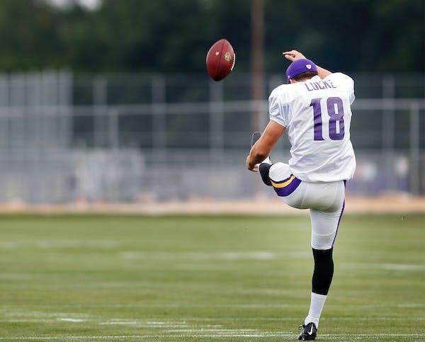 Vikings punter Jeff Locke